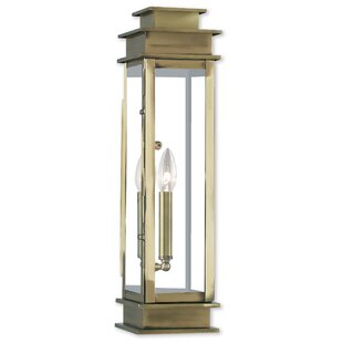 Clearance Farmingdale Traditional 1-Light Outdoor Flush Mount By Gracie Oaks