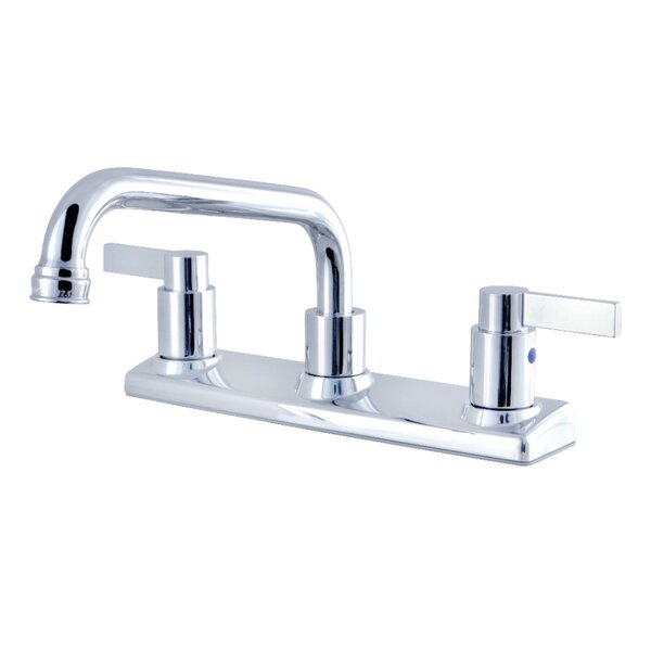 Nuvofusion Pull Out Double Handle Kitchen Faucet