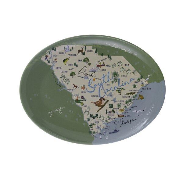 Senna State Melamine Platter by Winston Porter