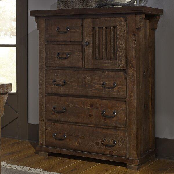 Buckleys 5 Drawer Combo Dresser by Loon Peak