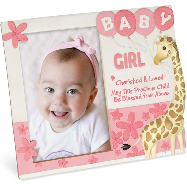 Cherished Blessings Girl Picture Frame by Angelstar