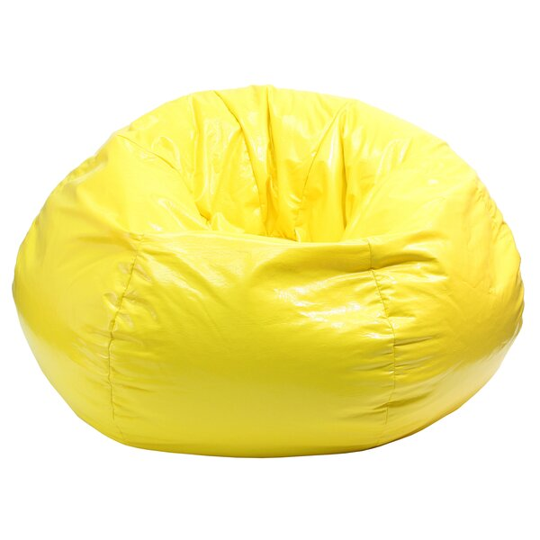 Wet Look Bean Bag Chair by Gold Medal Bean Bags