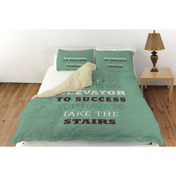 Take the Stairs Duvet Cover Collection