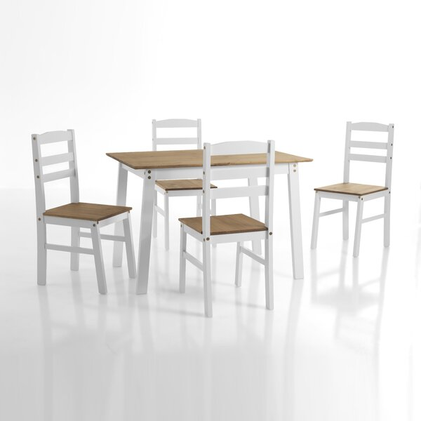 Athena 5 Piece Dining Set by Rosalind Wheeler