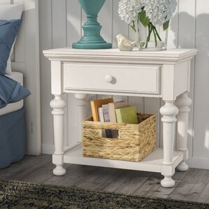 Lia 1 Drawer Nightstand by Ophelia & Co.