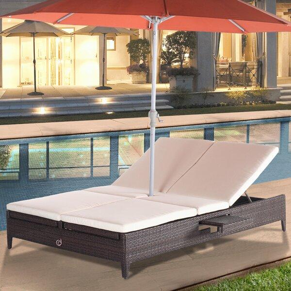 Cephas Sun Chaise Lounge with Cushion