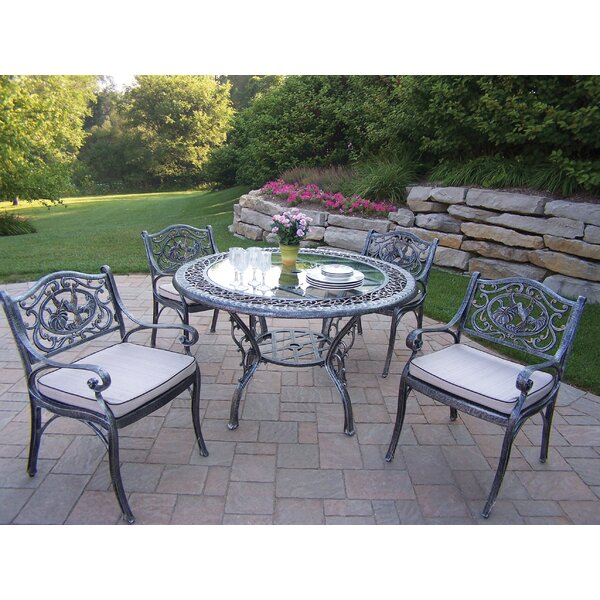 Mississippi Hummingbird Dining Set with Cushions by Oakland Living