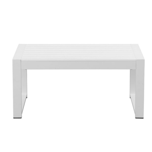 Barnard Quintessentially Perfect Anodized Outdoor Aluminum Coffee Table by Brayden Studio