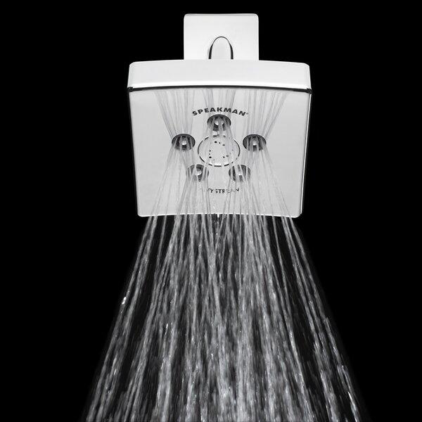 Kubos Anystream 2.5 GPM Multi Function Adjustable Shower Head by Speakman Speakman