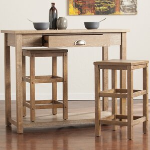 Allen 3 Piece Pub Table Set by Wildon Home ®