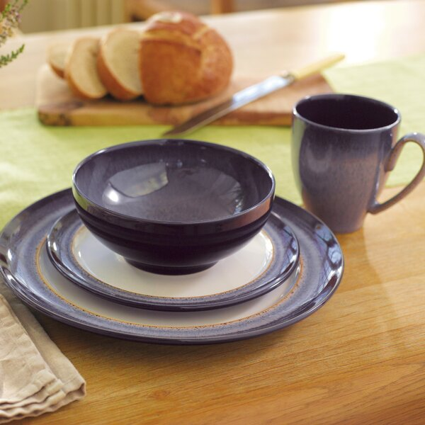 Heather 4 Piece Place Setting, Service for 1 by Denby