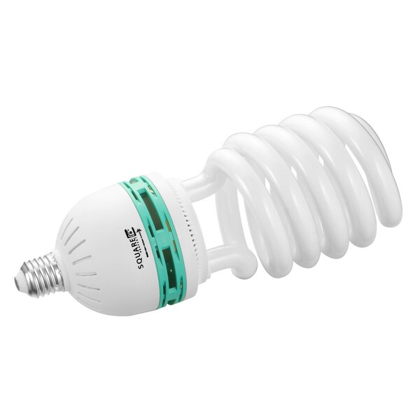 30W (5500K) Compact Fluorescent Light Bulb by Square Perfect