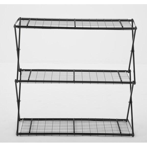 Exy X-Up 32 Three Shelf Shelving Unit by Flowerhouse