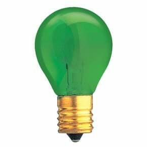 Specialty 10W Transparent Green String Replacement Light Bulb (Set of 33) by Bulbrite Industries