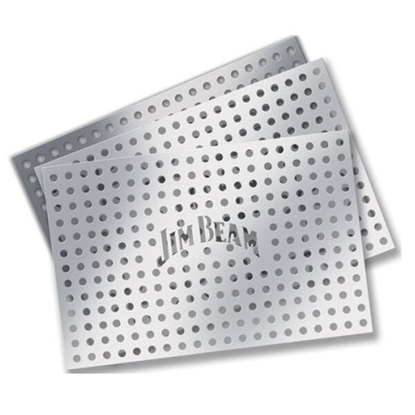 Aluminum Vented Grill Grate (Set of 3) by Jim Beam