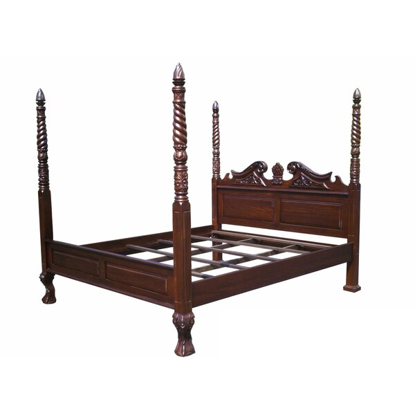 Oates Four Poster Bed by Astoria Grand