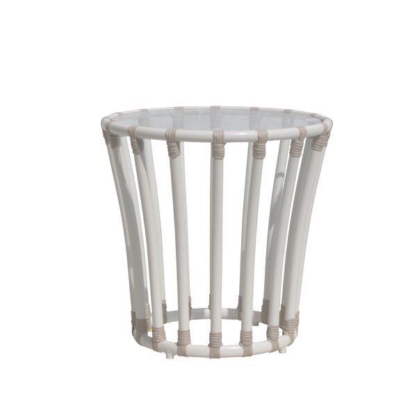 Laguna Glass Side Table By David Francis Furniture by David Francis Furniture Today Only Sale