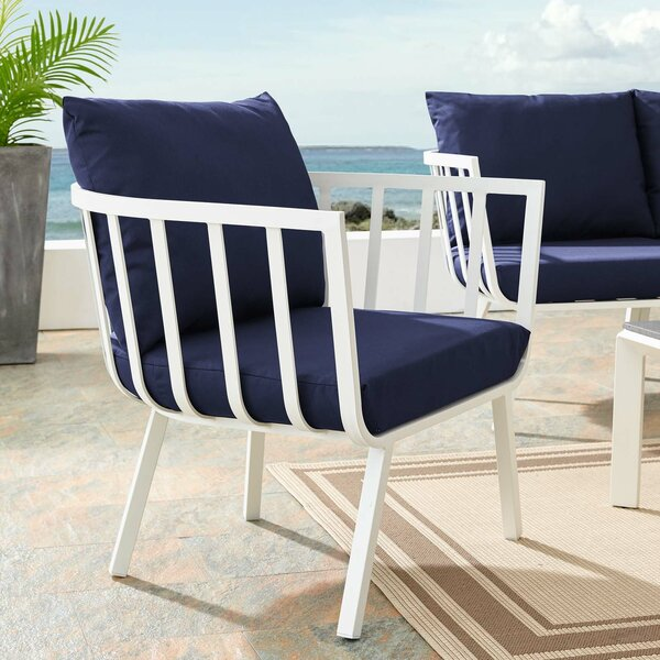 Montclaire Outdoor Patio Chair with Cushions by Brayden Studio Brayden Studio