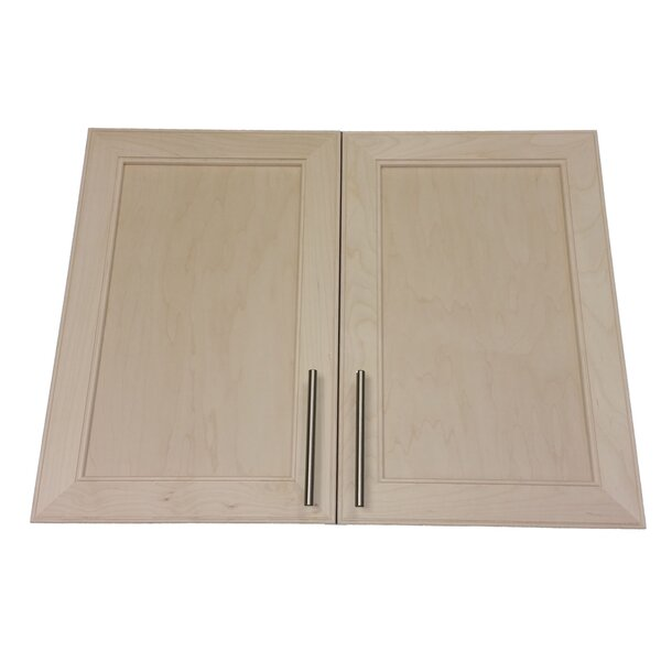 Village 31 W x 19.5 H Recessed Cabinet by WG Wood Products