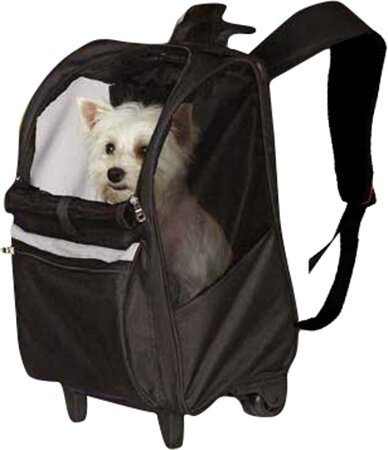 On The Go Rolling Pet Carrier by East Side Collection