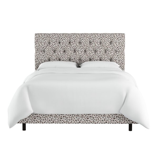 Marksbury Tufted Upholstered Standard Bed by Wrought Studio