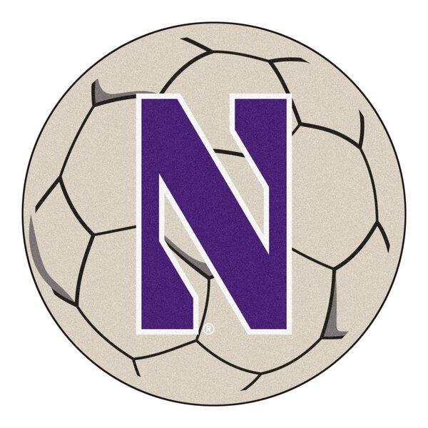 NCAA Northwestern University Soccer Ball by FANMATS