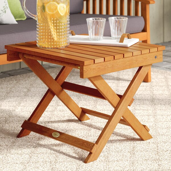 Cadsden Folding Side Table by Three Posts