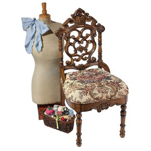 Victorian Sewing Side Chair by Design Toscano