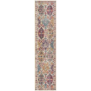 Doucet Pink/Cream Area Rug by Bungalow Rose