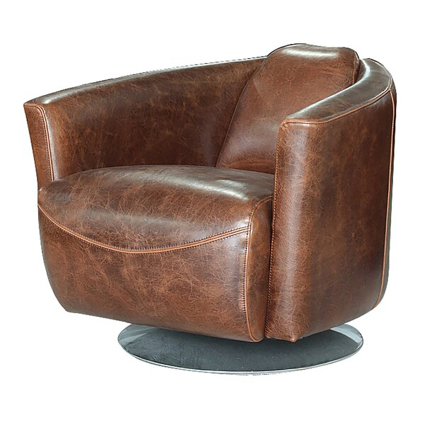 Boehme Swivel Club Chair by Darby Home Co
