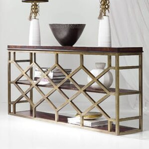 Melange Giles Console Table by Hooker Furnit..