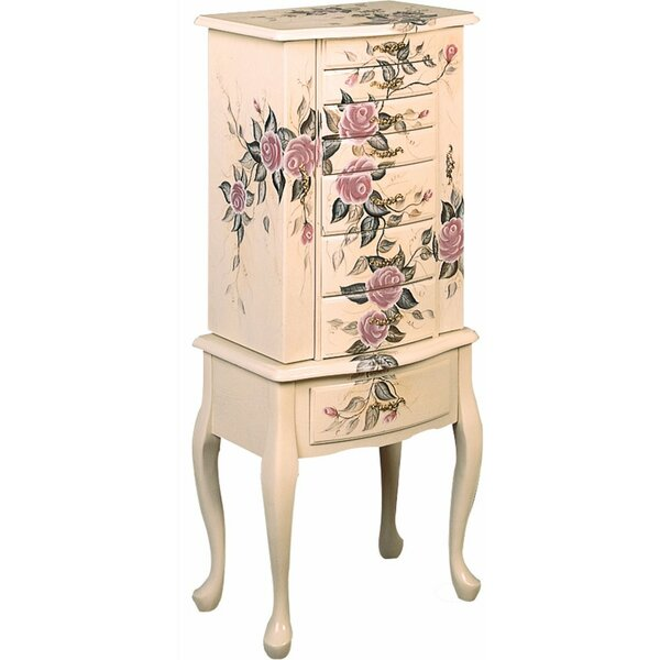 Weintraub Wooden Fairy Jewelry Armoire by Ophelia & Co.