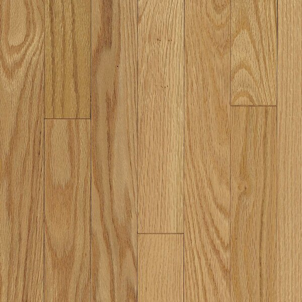 Ascot Plank 3-1/4 Solid Oak Hardwood Flooring in Natural by Armstrong Flooring
