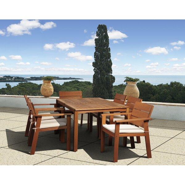 Gaeta 7 Piece Dining Set by Beachcrest Home