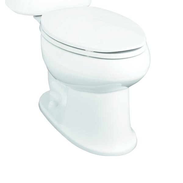 Stinson 1.28 GPF Elongated Toilet Bowl Only by Sterling by Kohler