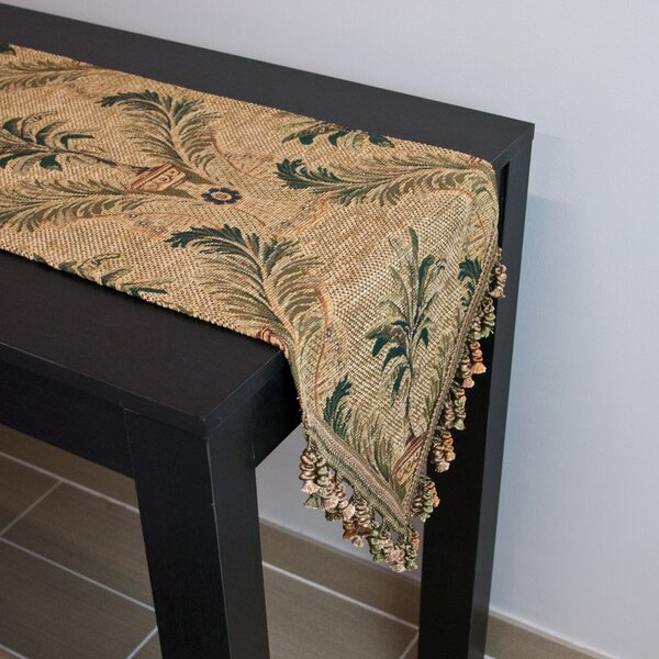 Palms Table Runner by Sherry Kline