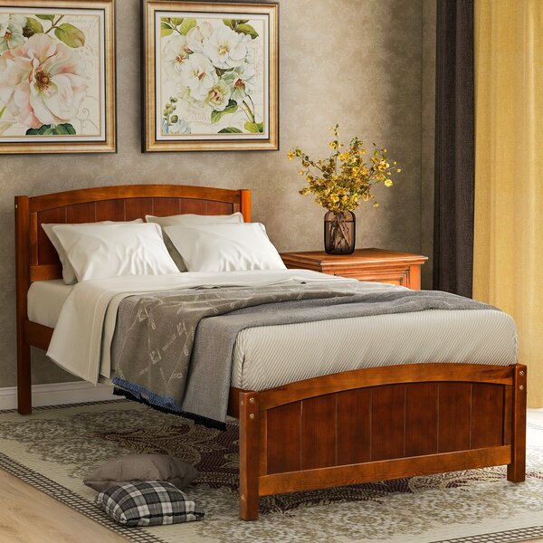 Yvaine Twin Platform Bed by Rosalind Wheeler
