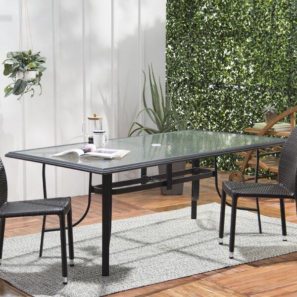 Ramon Glass Dining Table by Latitude Run Latitude Run