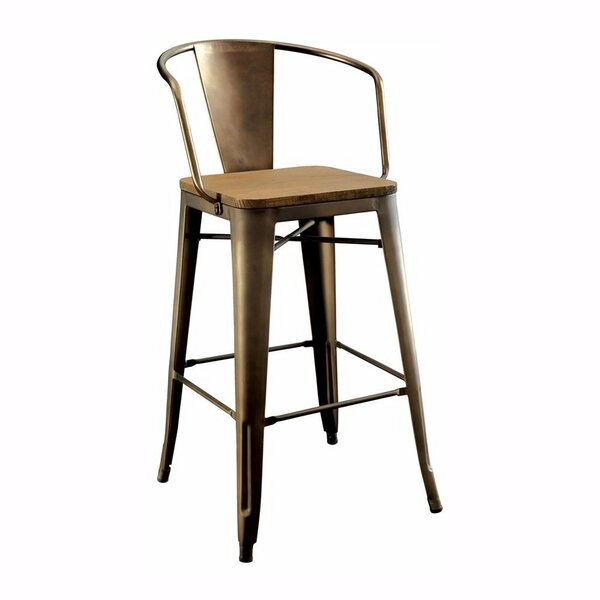 Carlo Counter Dining Chair (Set of 2) by 17 Stories
