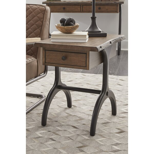 Abel Trestle End Table by Brayden Studio Brayden Studio
