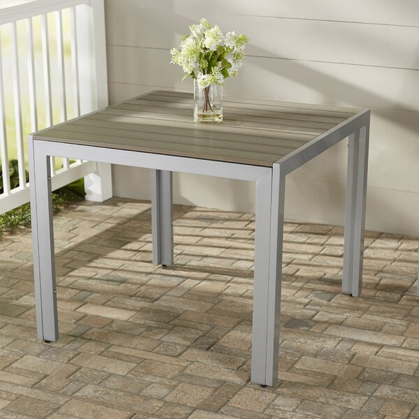 Allen Plastic/Resin Dining Table by Beachcrest Home