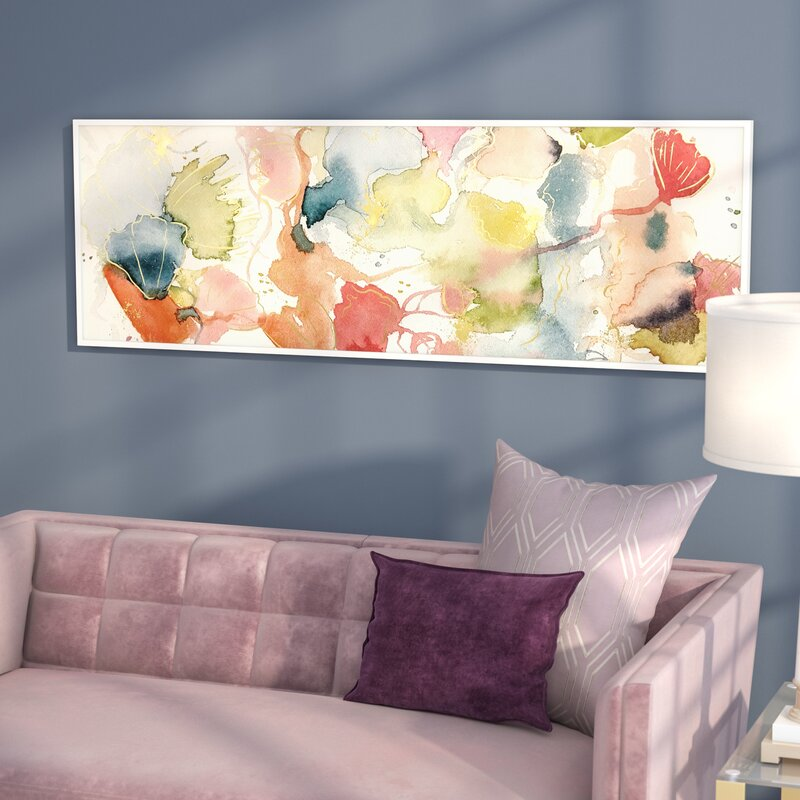 mercer41 my wild garden framed painting print on canvas reviews