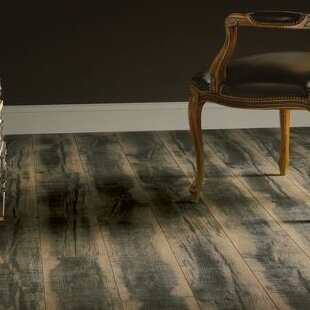 Architectural Remnants 8 x 48 x 12mm Oak Laminate Flooring in Blackened Natural by Armstrong Flooring