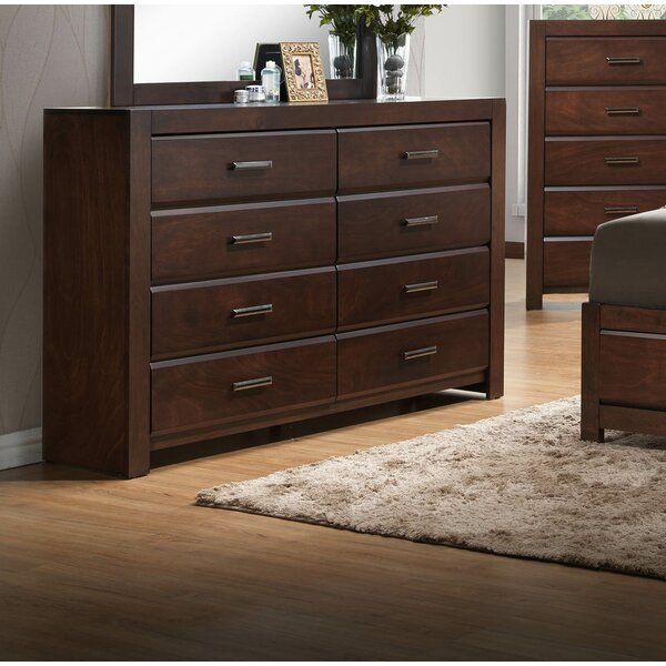 Quast 8 Drawer Double Dresser by Gracie Oaks