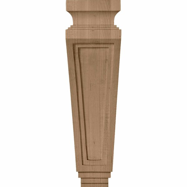 Arts and Crafts 14H x 3 7/8W x 4 1/2D Corbel in Rubberwood by Ekena Millwork