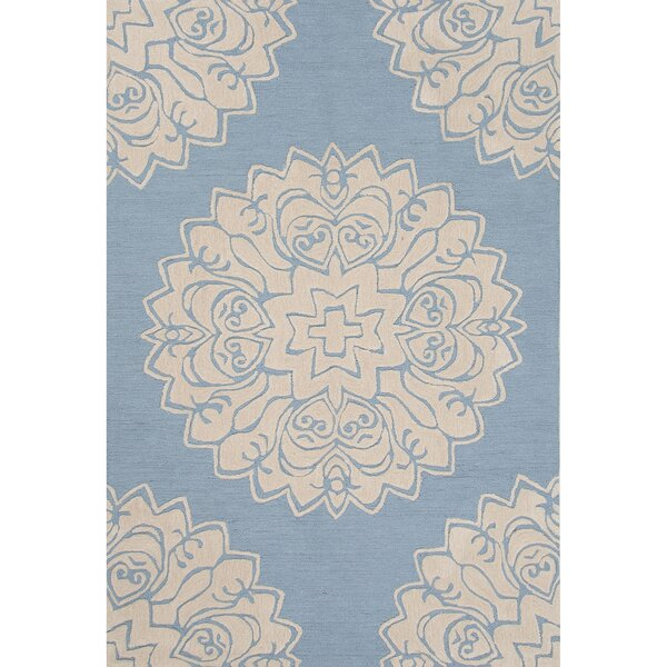 Norton Polyester Blue Hand Tufted Area Rug by Charlton Home