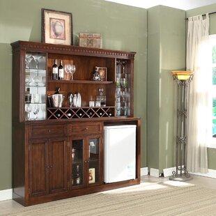 Chiaramonte Back Bar With Wine Storage