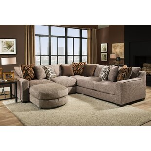 Wilma Sectional with Sectional Ottoman
