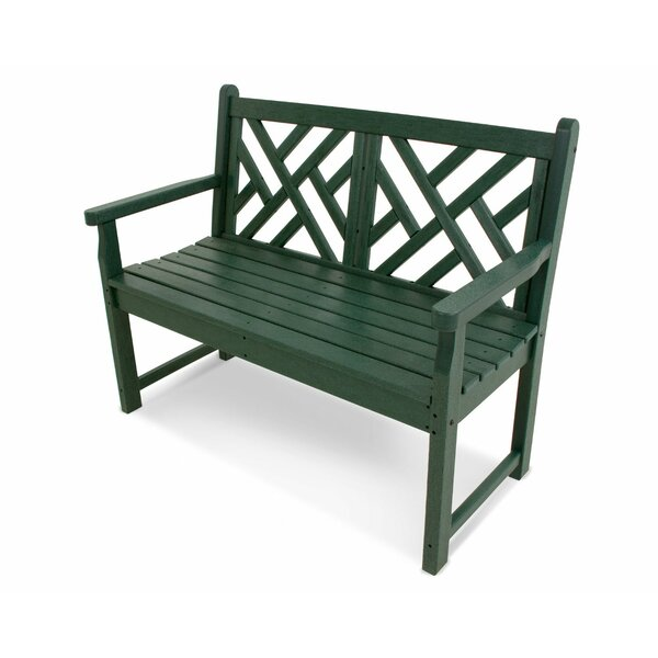 Chippendale 48 Bench by POLYWOOD®