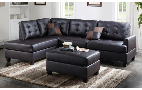 Malz Sectional with ottoman by A&J Homes Studio